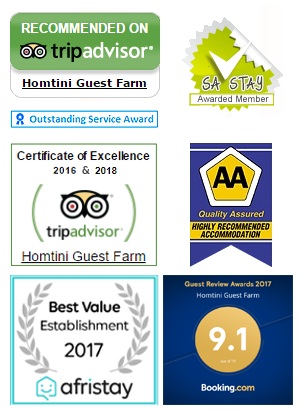Recommended on TripAdvisor, AA Quality Assured